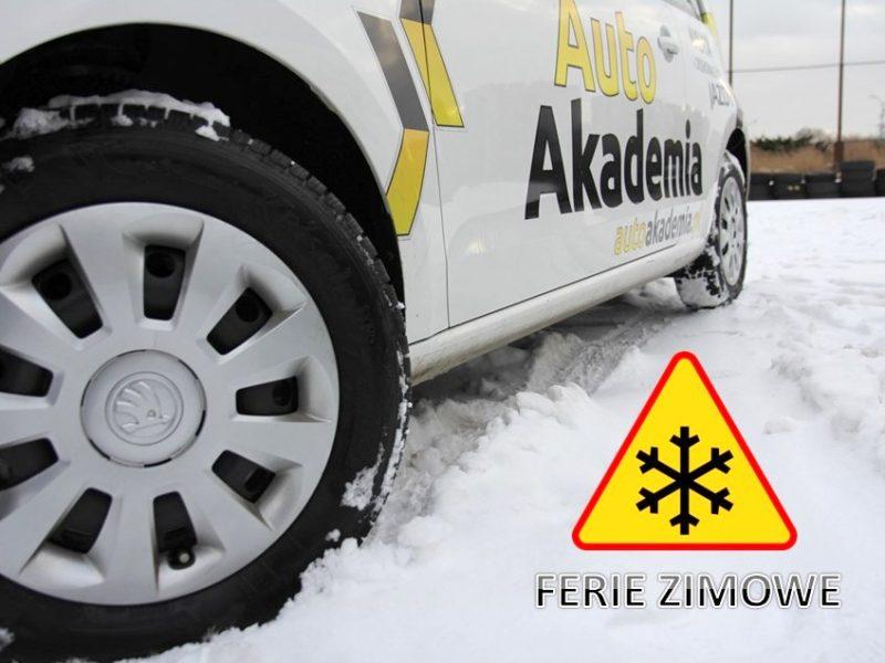 Prawo Jazdy w Ferie Zimowe