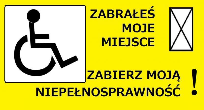 zabierz niepełnosprawność