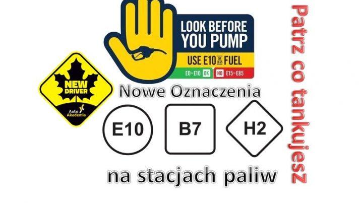 Nowe oznaczenia paliw 2018