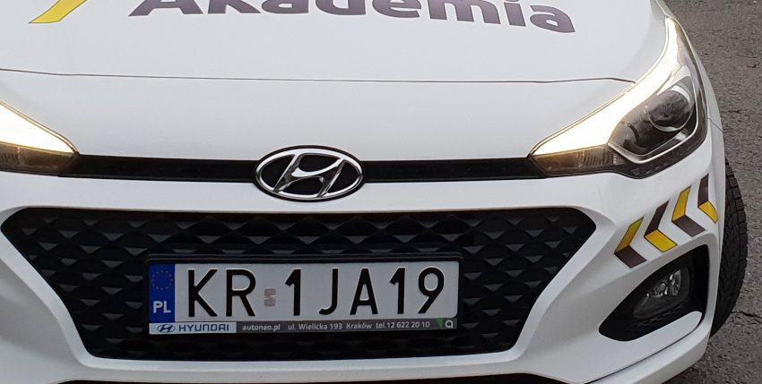 Nowy samochód egzaminacyjny w Krakowie