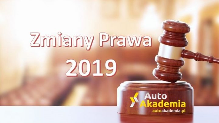 Zmiany Prawa 2019
