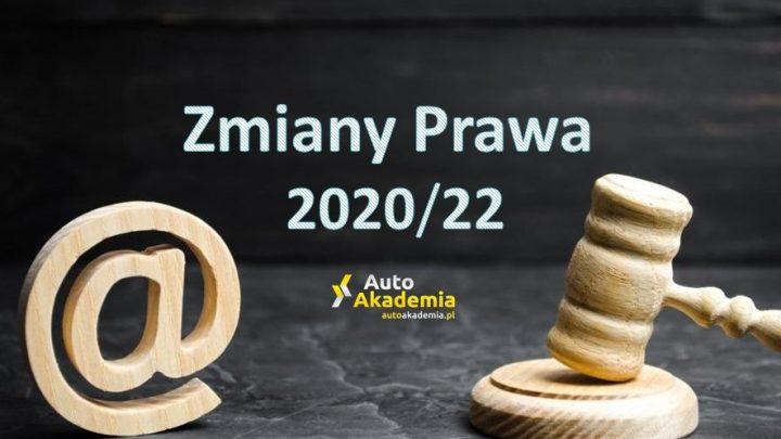 Zmiany Prawa Drogowego 2020-2022